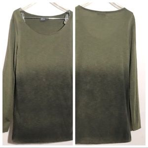 ASOS Long Sleeve Ombre Tee Size M